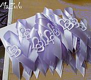 Pierka - svadobné pierka s dvojsrdiečkom - 7851034_