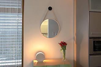Zrkadlá - Marc Drop Mirror XXL - drevené nástenné zrkadlo - 7851675_