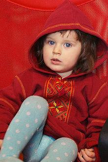 Detské oblečenie - Detská Mikina vyšívaná - 7853339_
