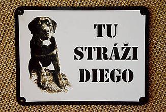 Pre zvieratká - Výstražná tabuľka - 7852501_