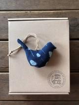 Obalový materiál - Darčekové balenie vtáčik - 7852809_
