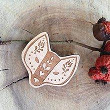 Odznaky/Brošne - Brošňa Lišiak ľudový - 7853412_