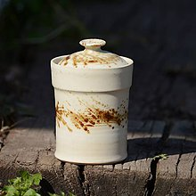 Nádoby - Kuchyňská dóza Tetinka maličká - Vůně kávy - 7854114_