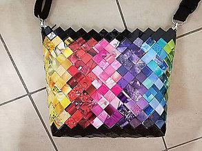 Kabelky - Crossbody Farebná kabelka - 7852905_