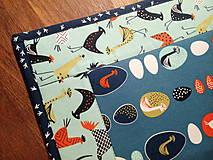 Úžitkový textil - Podložky - Sliepočky - 7854571_