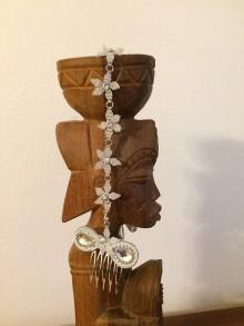 Iné šperky - Svadobné hrebienky do vlasov - 7853950_