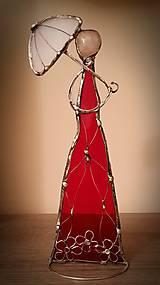 Socha - Dáma v červenom - 7850905_