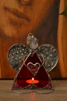 Socha - Anjel so srdcom na dlani - 7850910_