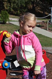 Detské oblečenie - Mikina pink - 7853103_
