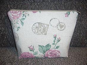 Taštičky - Taštička vintage roses - 7854675_