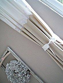 Úžitkový textil - Krátky záves - 7851376_