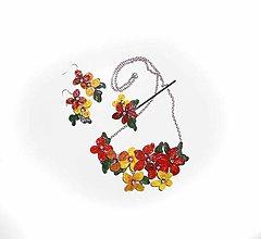 Sady šperkov - súprava, náhrdelník a náušnice - 7856766_