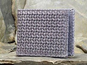 Peňaženky - Kožená peněženka - Alex s výklopnou kapsou - 7856621_