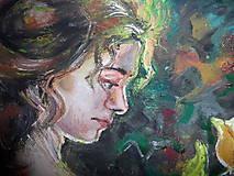 Obrazy - Žena vo viniči - 7856829_