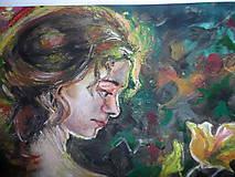 Obrazy - Žena vo viniči - 7856831_