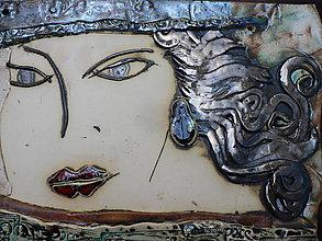 Dekorácie - Keramika, S tváří - 7855905_
