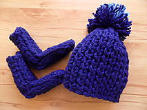 Detské čiapky - setík čiapočka-ponožky - 7857000_