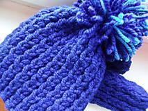 Detské čiapky - setík čiapočka-ponožky - 7857004_