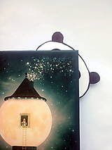 Papiernictvo - Záložka - Panda - 7855036_