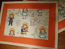 Úžitkový textil - Podložky farmárske - 7858095_