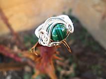 Prstene - malachit - 7855780_