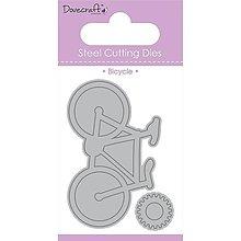 Pomôcky/Nástroje - Cutting Dies 2ks - vyrezávacia šablóna - Bicycle - 7859584_