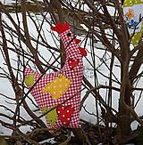 Úžitkový textil - Veľkonočná dekorácia - Vidiecká sliepočka - 7861334_