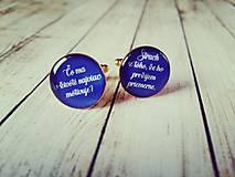 Šperky - Manžetové gombíky na objednávku :) - 7862800_