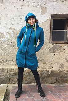Kabáty - Balónový kabátek ze svetroviny - 7862215_