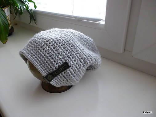 1eb722f4b Hackovana ciapka / katka.h - SAShE.sk - Handmade Detské čiapky