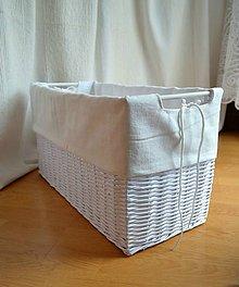Košíky - Box s drevenými úchytmi ZZUZZI/ks - 7859285_