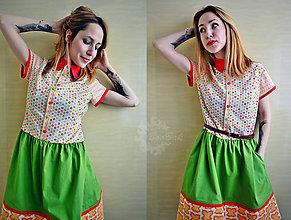 Šaty - Lentilkové šaty, najveselšie na svete :) - 7867418_