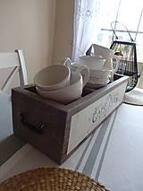 Dekorácie - Biela bednička - 7864338_