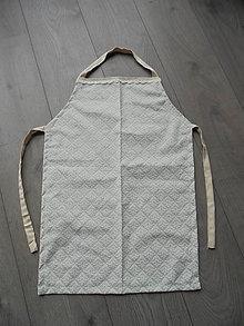 Iné oblečenie - Zástera detská - Vintage - 7864740_