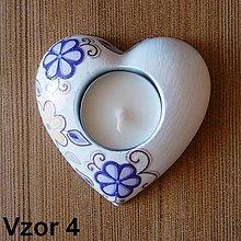 Svietidlá a sviečky - Svietnik na čajovú sviečku - Oheň v srdci - 7867486_
