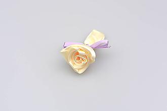 Pierka - Pierko krémové ruža (krémovo-fialové) - 7864261_