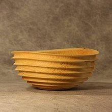 Nádoby - dizajnová miska z brezového dreva - 7867703_