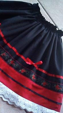 Detské oblečenie - Folková suknička - 7865699_
