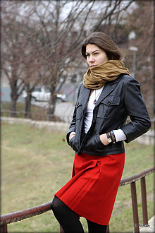 Sukne - Vlnená sukňa Runa - 7871003_
