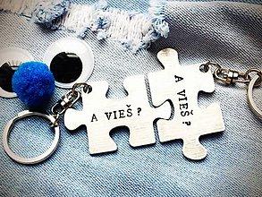 Kľúčenky - A VIEŠ ? .... - 7872815_