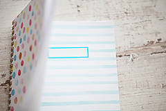 Papiernictvo - Bodkovaný zápisník - 7870987_
