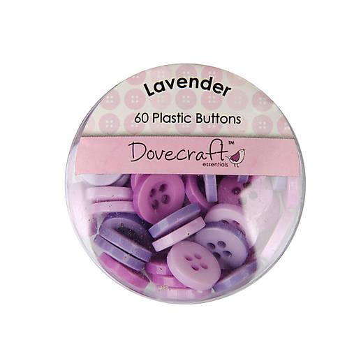 Gombíčky Dovecraft 60ks Lavender