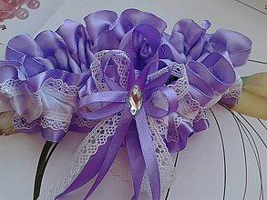 Bielizeň/Plavky - podväzok pre nevestu - 7870147_