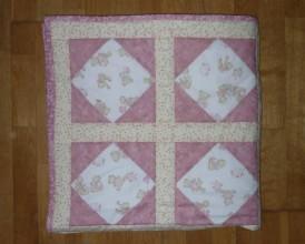 Textil - Deka pre deti - dva varianty (RUŽOVÍ MACKOVIA) - 7871080_