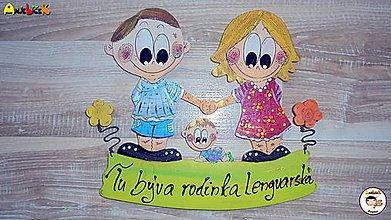 Tabuľky - Menovka - rodinka - 7871903_