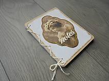 Papiernictvo - Vintage zápisník - Dáma - 7871470_