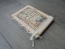 Papiernictvo - Vintage - Wedding planner - 7872760_