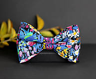 Doplnky - Motýlik z exkluzívnej dizajnérskej látky Liberty London - 7867889_