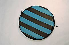 - Obal alebo kabelka kruhová pásikavá (aj na tanier!) - 7870585_