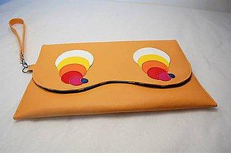 Na tablet - Väčší obal okatý alebo kabelka do ruky - 7870313_